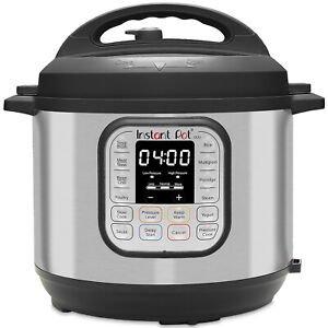 Instant Pot Duo 6 Qt Pressure Cooker 7 in 1 Multi-Use