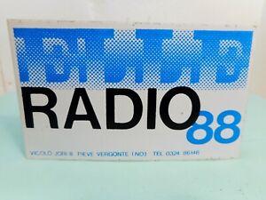 Stichers RADIO ELLE 88  - Adesivo anni 80 - Vintage ++++++++++++++++