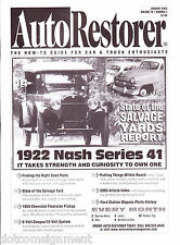 Auto Restorer Magazine Jan 2004 Car & Truck Enthusiasts 1922 Nash Series 41