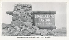 MT * Lewis and Clark Cavern Entrance   ca. 1940  Whitehall Jefferson Co.   Cave