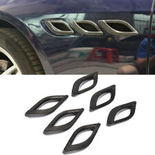Fits Maserati Quattroporte Carbon Fiber Side Air Flow Vent Intake Cover 2014-15