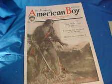 Jan 1920 AMERICAN BOY Magazine COASTER WAGON-CONVERSE SNEAKERS etc