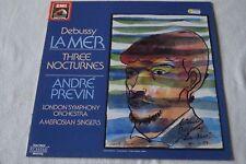 "Debussy 'la mer' & 'three nocturnes' 12"" vinyl LP, conductor Anre Pevin, LSO"