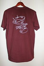 Mens NWOT Obey Posse Cheap Times Sz M Red Short Sleeve Casual Shirt T-Shirt Tee