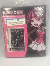 "Monster High Fabric Shower Curtain 72"" x 72 """