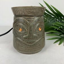 Scentsy TIKi Luau Wax Scent Warmer Burner TESTED Excellent Condition!!! DSW-TIKI
