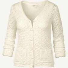 New Fat Face carrie crochet Lace Cardigan  Size UK 12, Ivory/ Fashion