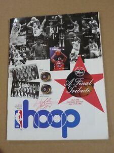 Early Kobe Bryant Autograph April 1996 on 76ers Hoop Magazine JSA LOA