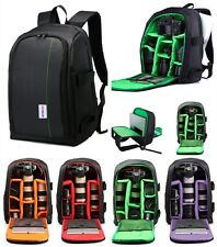 Deluxe Shockproof Camera Bag Case DSLR SLR Backpack for Canon Nikon Sony Laptop