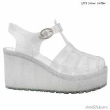 Scarpe da donna senza marca argento in gomma