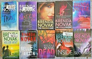 BRENDA NOVAK 10 BOOK LOT PAPERBACK ROMANTIC SUSPENSE NOVELS FREE SHIPPING!