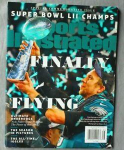 Feb 2018 Sports Illustrated Philadelphia Eagles Super Bowl 52 Champs