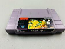 Earthworm Jim 2 Super Nintendo SNES  Genuine OEM Authentic
