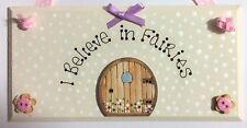 A mio avviso in FAIRIES FATA Porta Placca Segno dente fairy regalo