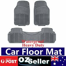 Grey/Gray Rubber Cars Floor Mats Anti /Dust/Slide/Weather/Friction/Skidding
