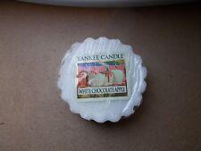 Yankee Candle Usa Exclusive Rare White Chocolate Apple Wax Tart