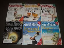 2008-2012 SMART MONEY MAGAZINE LOT OF 8 ISSUES - GREAT COVERS - PB 970