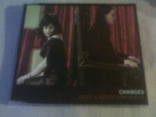 OZZY / KELLY OSBOURNE - CHANGES - 3 TRACK CD SINGLE - PART 1