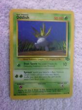 Carte pokémon oddish 58/64 commune carte anglaise jungle