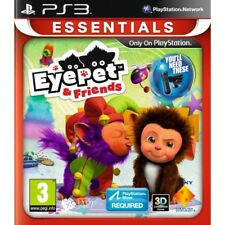 Eye-pet & Friends (simulation Game And) PlayStation Move Required Ps3 Essentials