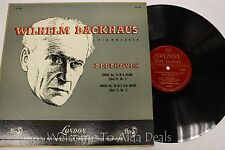 "Wilhelm Backhaus - Pianoforte Beethoven LP 12"" (G)"