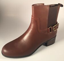 NIB Bandolino Curtain Call Womens Size 8M Brown Leather Fashion Ankle Boots