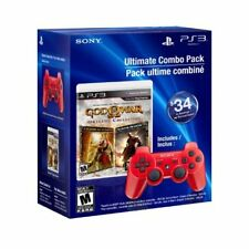 God Of War Origins Collection And Dualshock 3 Wireless Controller Combo Pack