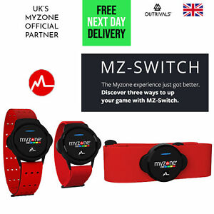 MyZone Heart Rate Monitor Switch Fitness Tracker Physical Activity Belt Strap