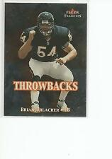 BRIAN URLACHER 2000 Fleer Throwbacks card #7 Chicago Bears Football NR MT