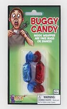 Buggy Candy - Inside Wrapper Are Fake Bugs Or Fake Snakes! - Jokes,Gags,Pranks