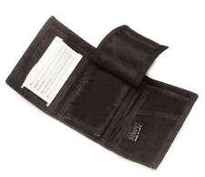 HWC Student Black Nylon TRI FOLD Badge Shield ID License Card Wallet Case Holder