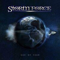 STORM FORCE - AGE OF FEAR    CD NEU