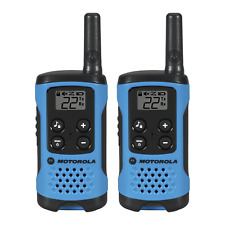 2Pc MOTOROLA Talkabout Waterproof Two Way Radio Walkie Talkie 16 Miles Range