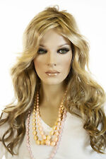Amber 12FS8 Blonde Medium Jon Renau Wavy Wigs