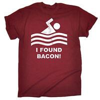 I Found Bacon Rashers MENS T-SHIRT birthday meat eater pork sausage funny gift