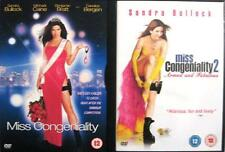 MISS CONGENIALITY 1 & 2 (One & Two) Sandra Bullock Action Cop Comedy DVD *EXC*