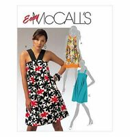 McCalls Sewing Pattern 5654 Misses Dress Size 14-20
