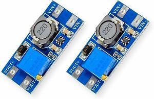 2 Stück Step-up Boost Power Converter MT3608 für Arduino Raspberry DIY-Projects