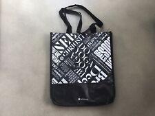 """RARE Lululemon Reusable Shopping Bag Large Tote Gym """"Do Yoga"""""""