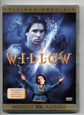 WILLOW 1988 DVD EDIZIONE SPECIALE FANTASY VAL KILMER RON HOWARD GEORGE LUCAS