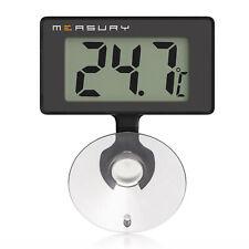 Measury Aquarium Thermometer Wasserdicht Digital, Aquariumthermometer Aquarien