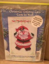 Design Works Santa Felt Ornament Kit Greeting Card Kit Easy To Do 5580 Christmas