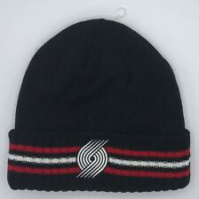 NBA Portland Trail Blazers Adidas Cuffed Winter Knit Cap Hat Beanie #KT18Z NEW!