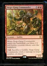 MAGIC  1 CARTE ETERNAL FOIL SIEGE-GANG COMMANDER
