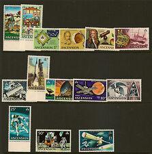 ASCENSION ISLAND :1971 Decimal Currency set   SG 135-48 MNH