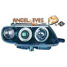 Par Faros Delanteros Tuning CITROËN SAXO 1996-99 negro anillos ojos de angel