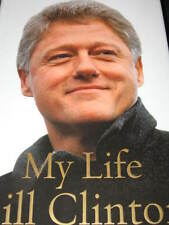 MY LIFE BY BILL CLINTON HARD COVER BOOK U.S. PRESIDENT WITH DUST JACKET PHOTOS