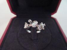 Cartier Meli Melo Diamond Platinum Ring size 6