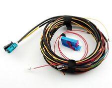 Cámara de visión trasera rfk transformación arnés adaptador cable para audi a4 b6 con RNS-E