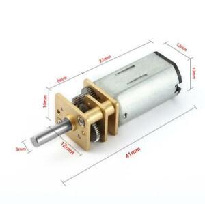 DC3V/6V/12V 25rpm~4000rpm GA12-N30 geared motor